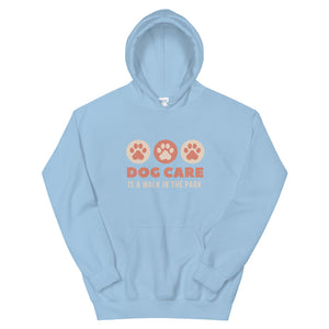 Dog Care - Walk in the Park Unisex Hoodie