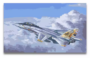 F14 - Painting by number set 40x50cm including frame - painting by gene