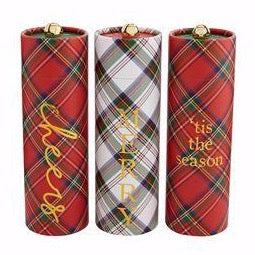Cheers Tartan Fireplace Matches