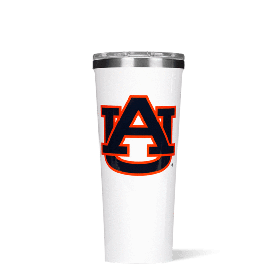 This 24 oz Tumbler features your favorite team logo.  Show your team spirit at the next tailgate with this game day line from Corkcicle.  Go Tigers!