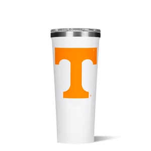 This 24 oz Tumbler features your favorite team logo. Show your team spirit at the next tailgate with this game day line from Corkcicle. Go Vols!