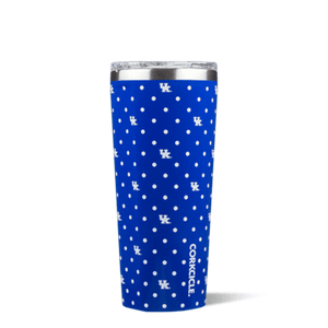 This 24 oz Polka Dot Tumbler features your favorite team logo. Show your team spirit at the next tailgate with this game day line from Corkcicle. Go Wildcats!