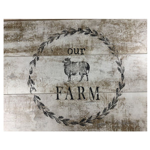 IOD Farmhouse Animals Decor Stamp