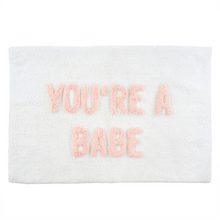 Load image into Gallery viewer, Your A Babe Bath Mat ON SALE