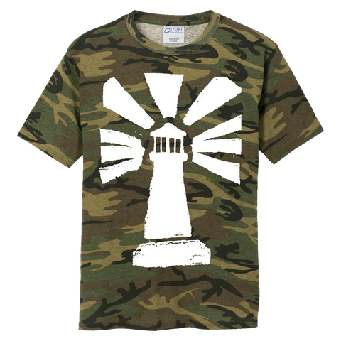 """Lighthouse"" Logo Camo Tee"