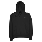 """Internal Atomics"" Black Champion Hoodie"
