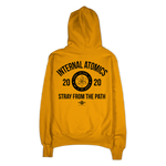 """Internal Atomics"" Gold Champion Hoodie"