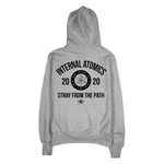 """Internal Atomics"" Steel Gray Champion Hoodie"