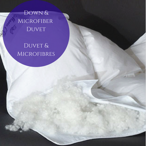Canadian White Goose Down Duvet and Microfiber Duvet for Kids (and parents!)