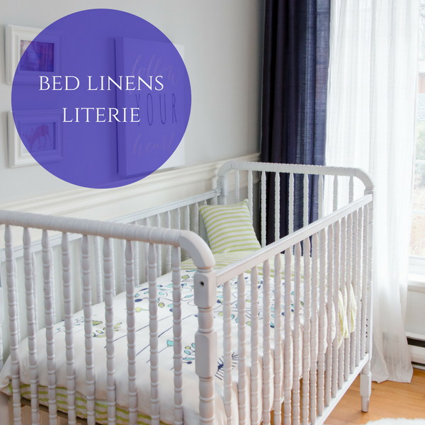 100% Organic Cotton Baby Bed Linens