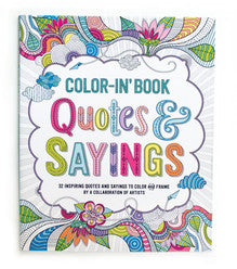Quote and Sayings Color in Book