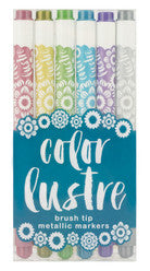 Color Lustre Metallic Markers
