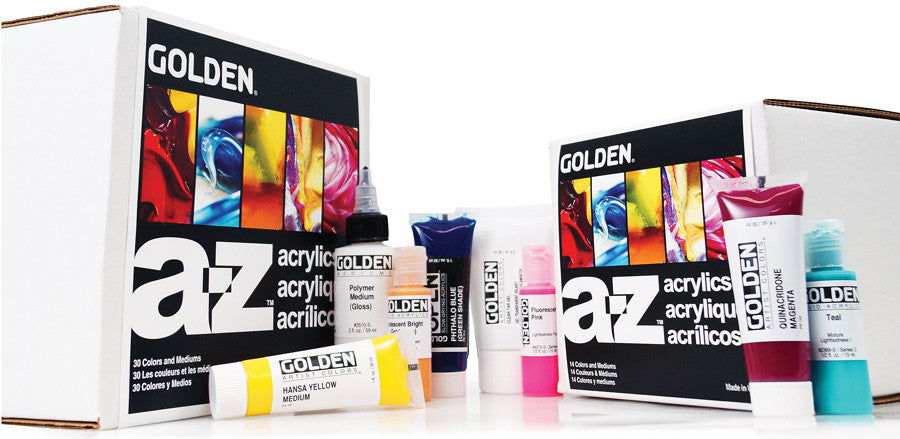 AZ Golden Paint set