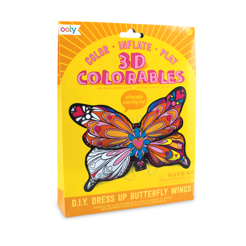 3D Colorables  Butterfly Wings