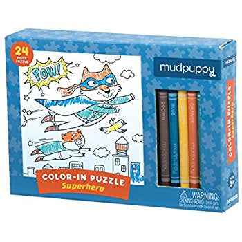 Color In Puzzle Mudpupppy (Take Home)
