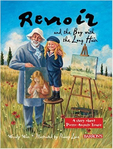 Renoir and the Boy with the Long Hair Book