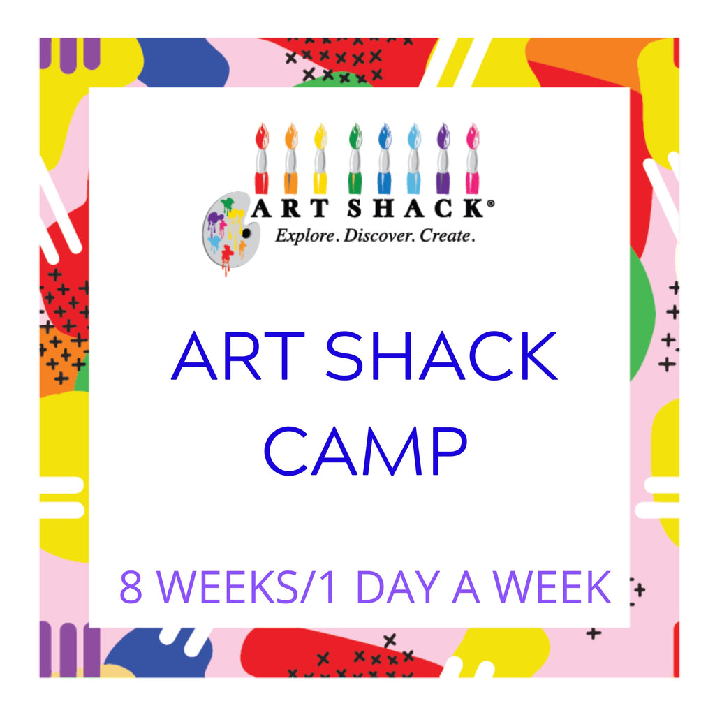 Art Shack Camp 8 Weeks/1 Day a week
