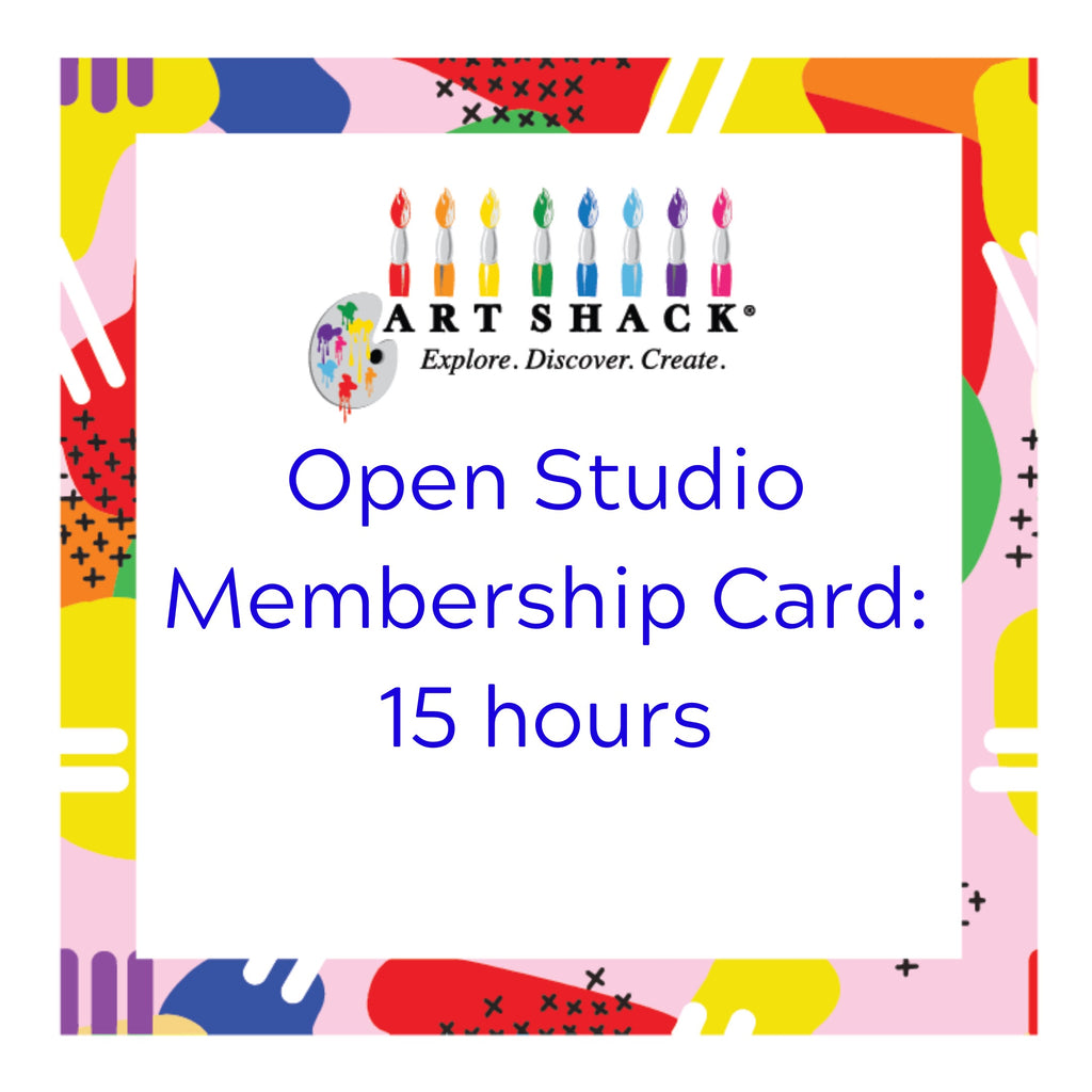 Open Studio Membership 15 hours