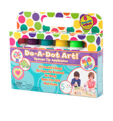 Do A Dot 6 Washable Brilliant Colors Markers