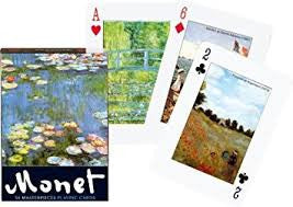 Playing Art Cards Monet
