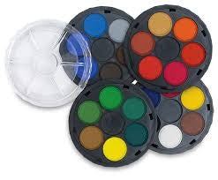 Watercolor Paint Wheels (small)