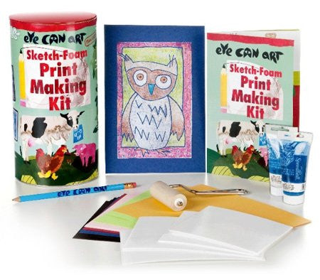 Eye Can Art Sketch Foam Print Making Kit