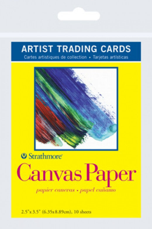 Canvas Paper Artist Trading Cards
