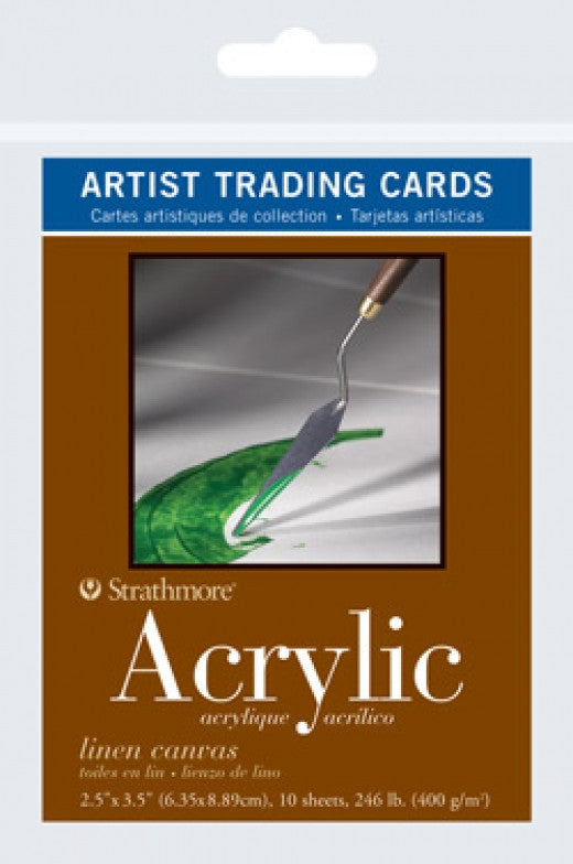 Acrylic Artist Trading Cards