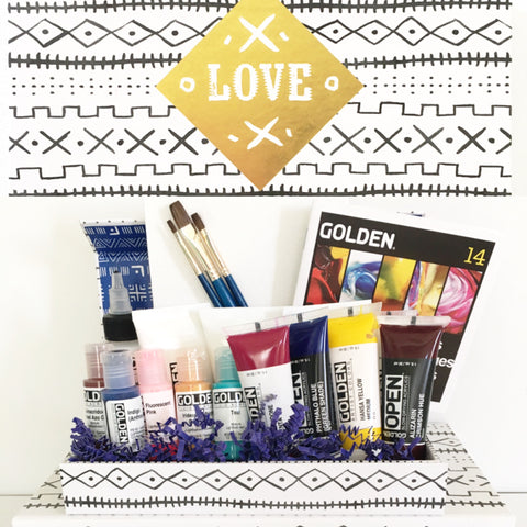 Golden Paints Gift Set