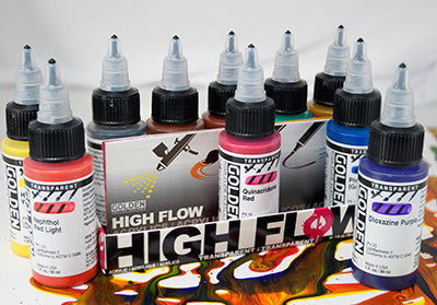 High Flow Acrylic Transparent Set