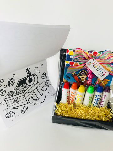 Art Shack Gifts: Pirates and Buried Treasure Gift Box