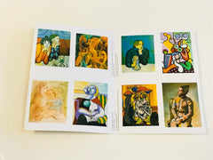 Picasso Art Book 24 postcards