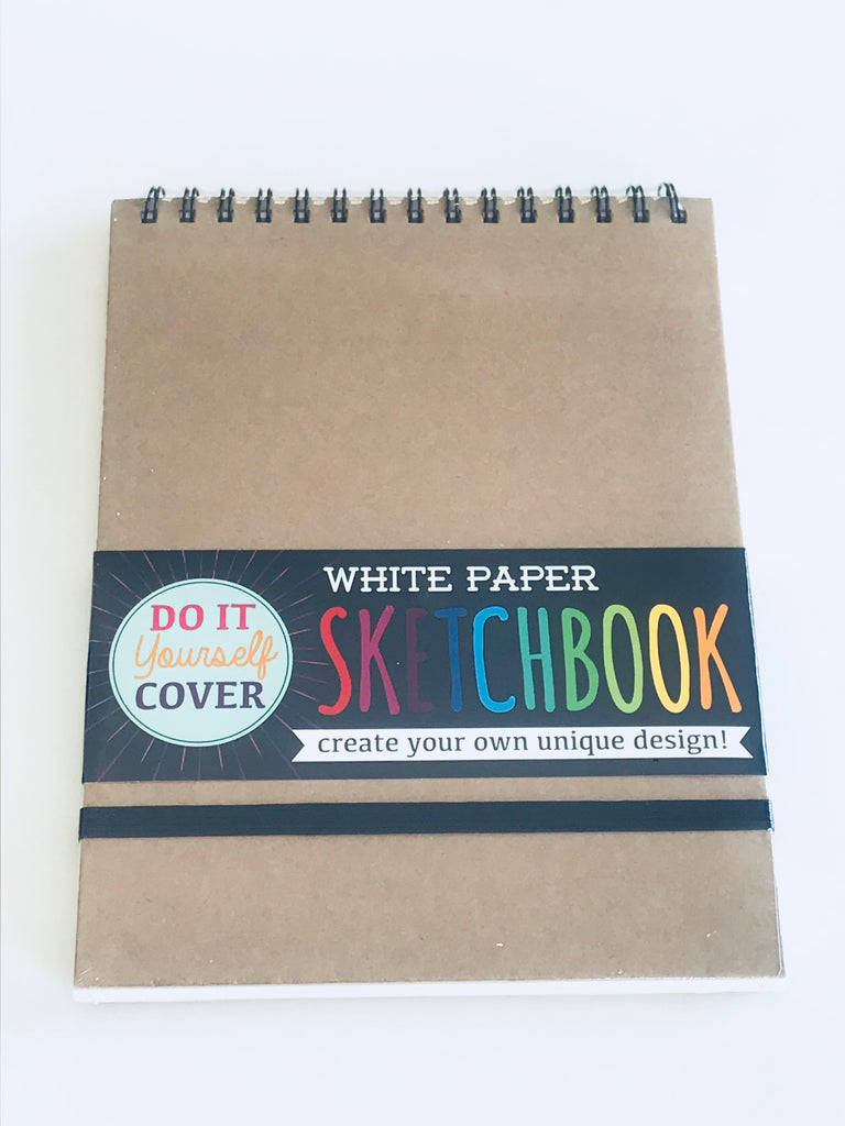 White Paper Sketchbook (8x10.5)