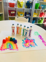 Do A Dot 6 Rainbow Washable Markers