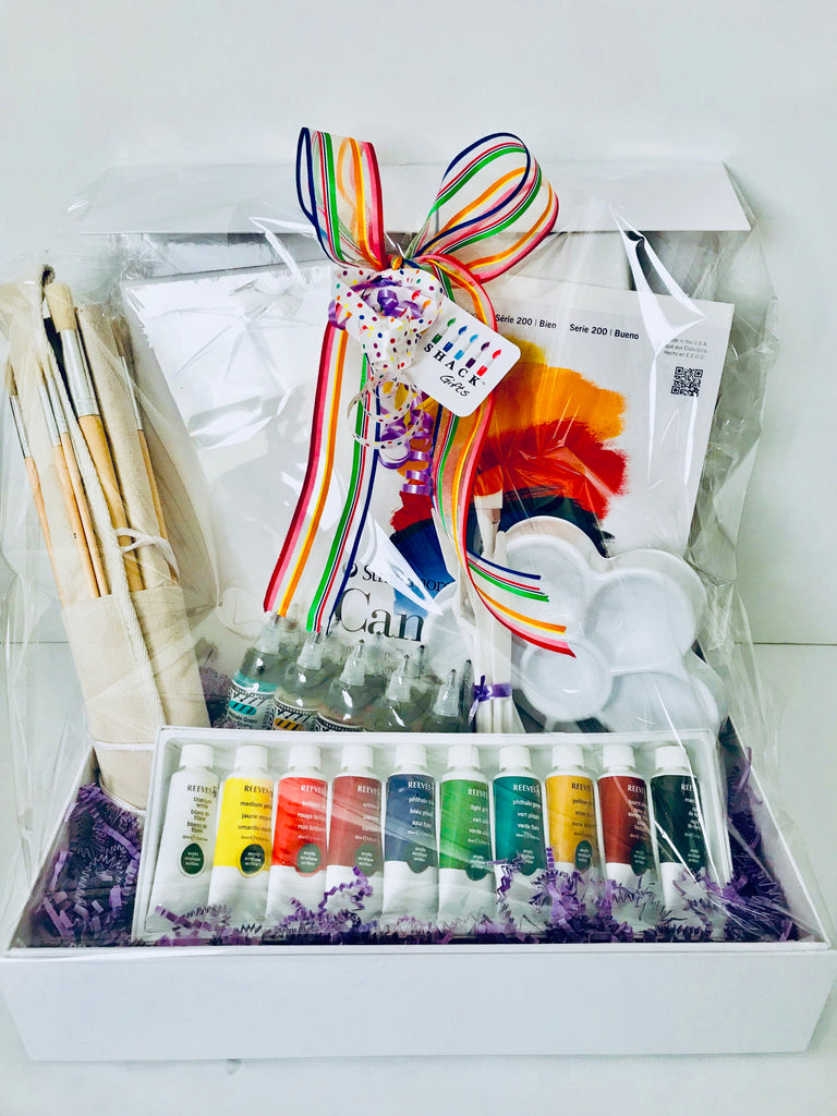 Item # 1028ACHFL Acrylic Advanced Artist Gift Set