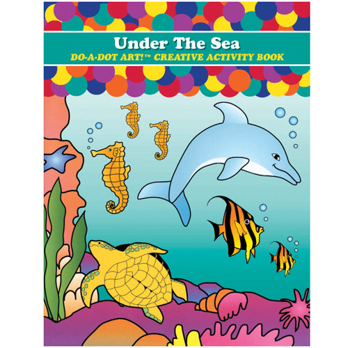 Sea Animals Dot Book