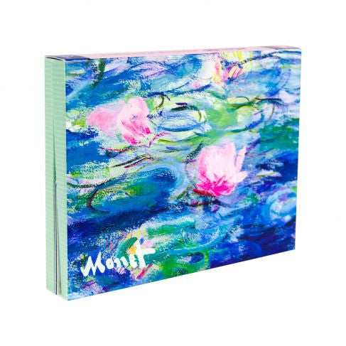 Monet Waterlilies Portfolio Notecards