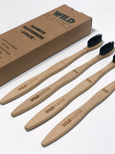 Bamboo Toothbrush (4-Pack)