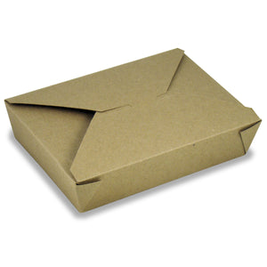 ECOSOURCE Natural Kraft Take Out Box, The Box # 2, 200 Count - TheLotusGroup - Brand You Can Trust