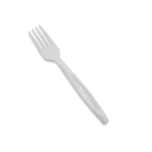 "Jaya 100% Compostable 6.5"" Heavy Duty Cutlery, Fork, 1000-Count Box - TheLotusGroup - Brand You Can Trust"