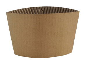 StalkMarket Corrugated Coffee Sleeve, 10oz-20oz
