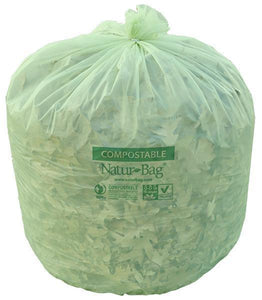 Natur Bag - NT1025-X-00030 - 55 Gallon Compostable Liners - 100 Count, 20/5 (roll) - TheLotusGroup - Brand You Can Trust