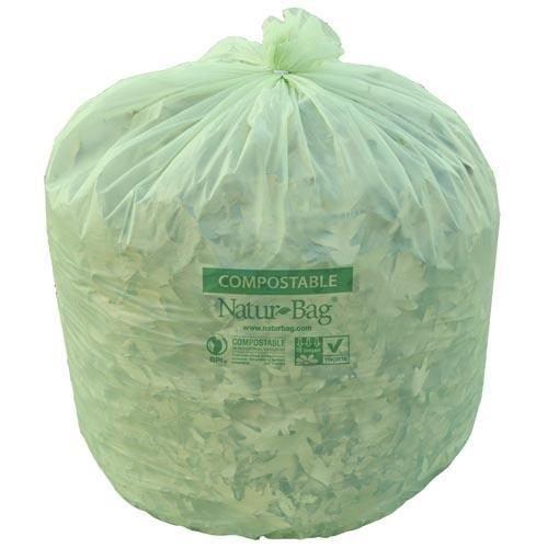 Natur Bag - NT1025-X-00014 - 33 Gallon Compostable Liners - 200 Count, 25/8 (roll) - TheLotusGroup - Brand You Can Trust