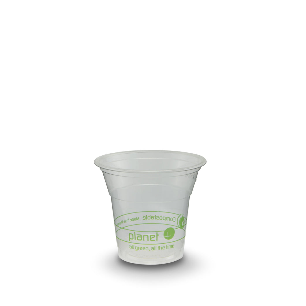 Planet+ 100% Compostable PLA Clear Cold Cup, 5-Ounce, 2000-Count Case - TheLotusGroup - Brand You Can Trust