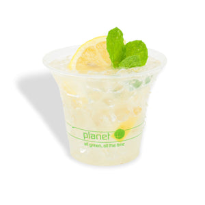 Planet+ 100% Compostable PLA Clear Cold Cup, 7-Ounce, 2000-Count Case - TheLotusGroup - Brand You Can Trust
