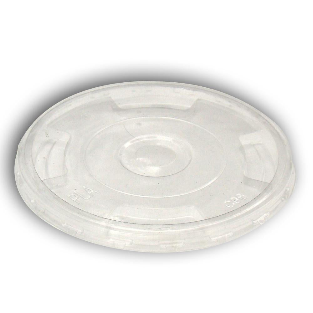 Planet+ 100% Compostable PLA Lids, 1000-Count Case - TheLotusGroup - Brand You Can Trust