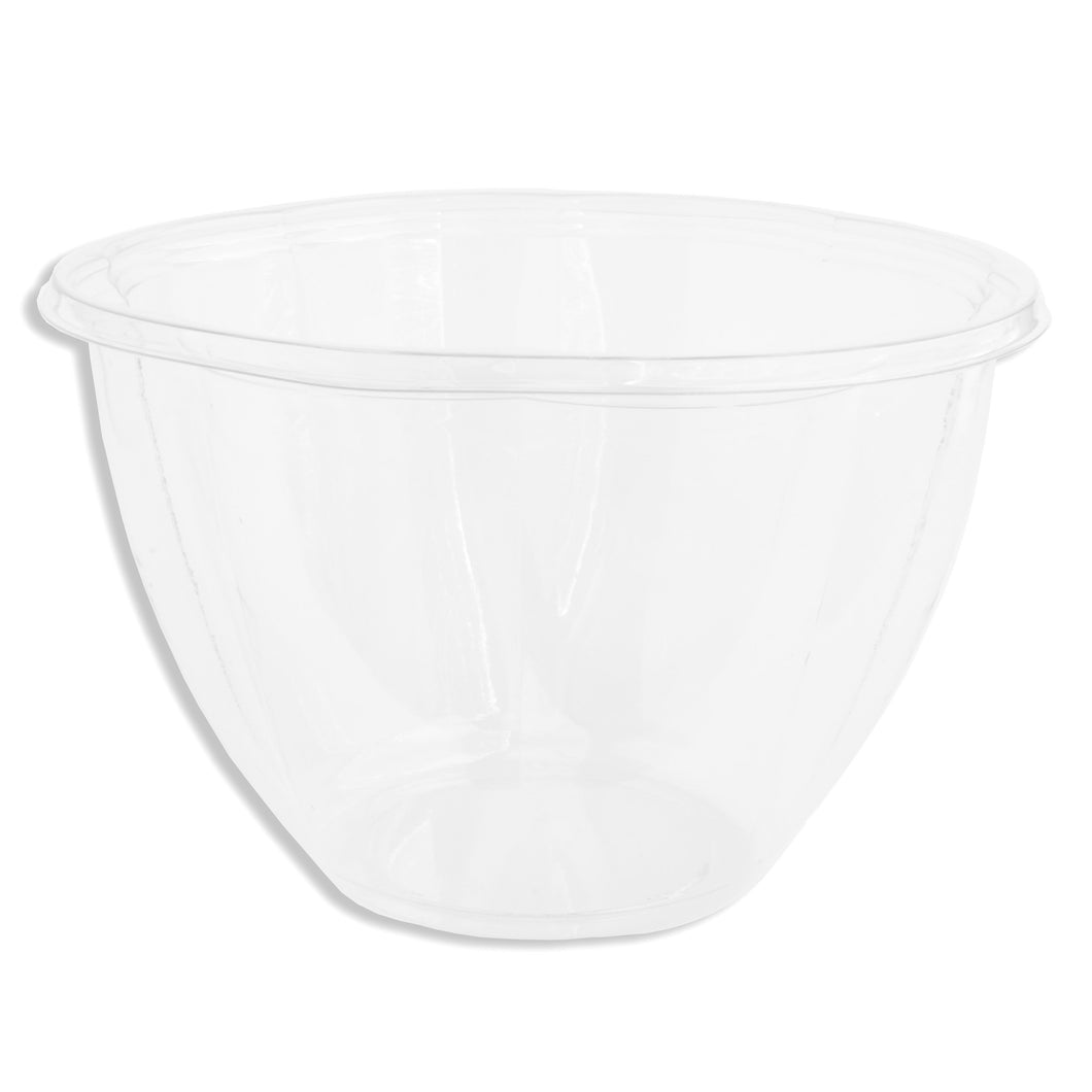 Jaya 100% Compostable Clear PLA Salad Bowl, 48-ounce, 300-count case - TheLotusGroup - Brand You Can Trust
