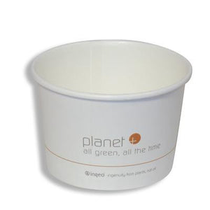 Planet + 100% Compostable PLA Laminated Food Container, 16-Ounce, 500-Count Case - TheLotusGroup - Brand You Can Trust