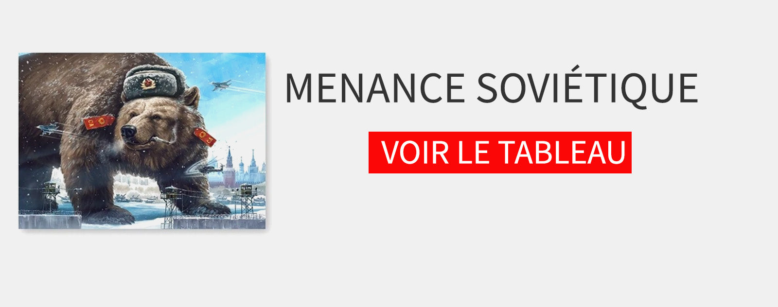 Tableau Ours Russe
