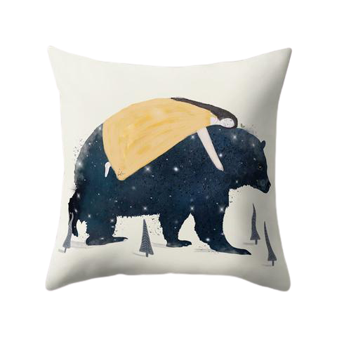 Coussin Motif Ours